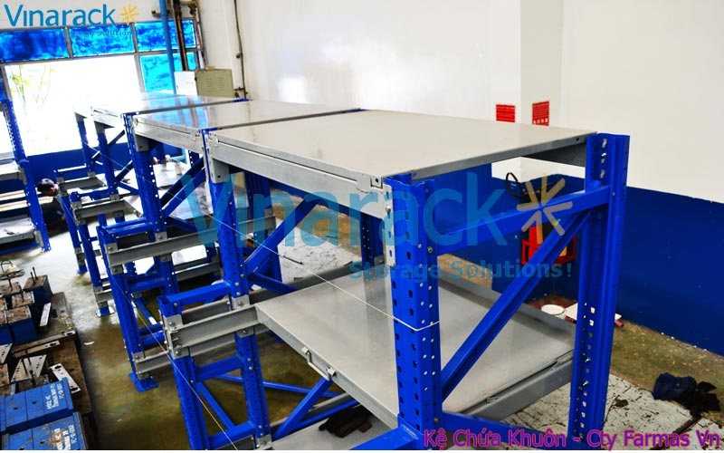 Project implementation mould rack with Framas company